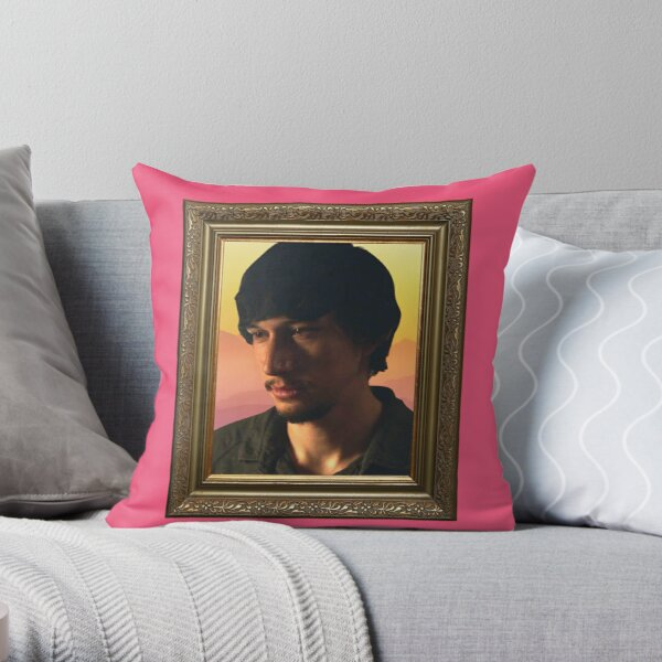 Adam Sackler BF Frame Throw Pillow