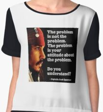 Cpt Jack Sparrow Women's Chiffon Top