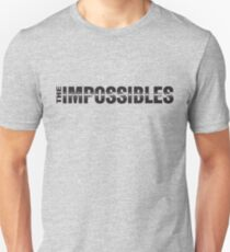 The Impossibles Logo - Black T-Shirt