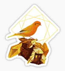 Topaz Canary Sticker