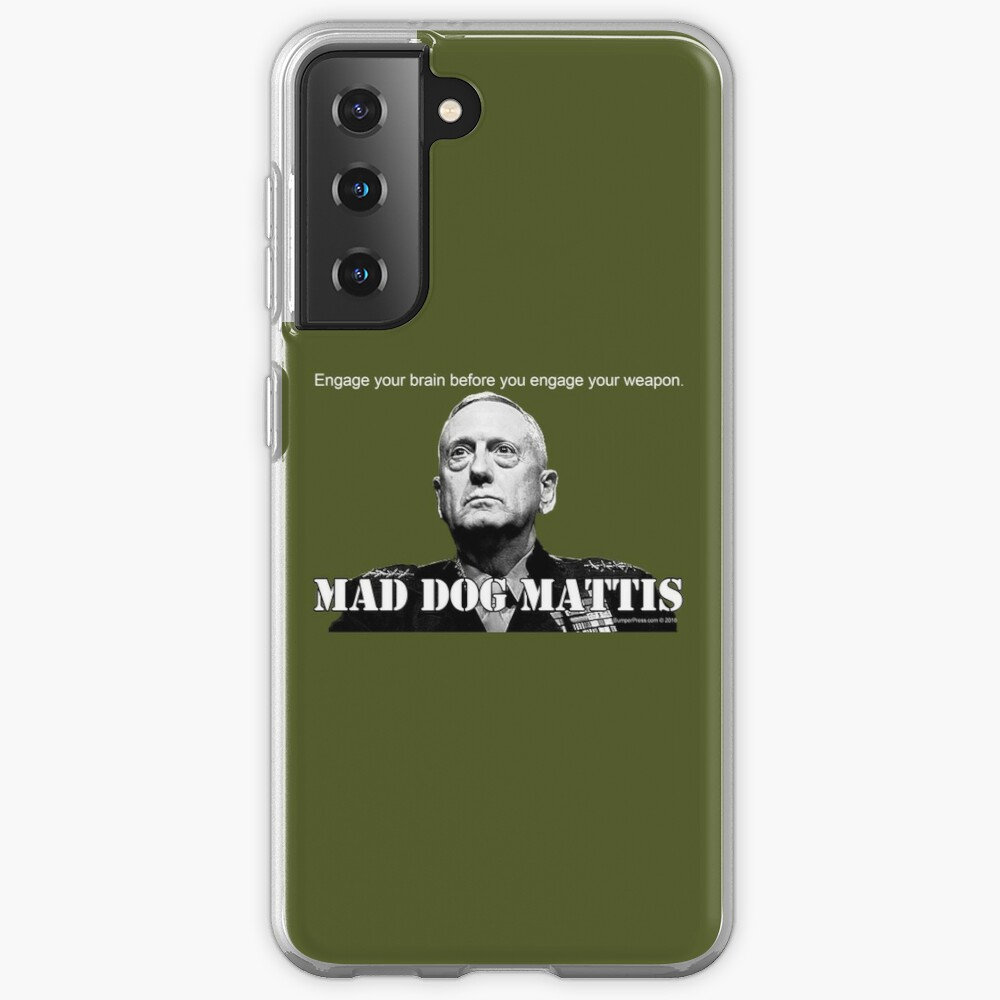 Mad Dog Mattis Case & Skin for Samsung Galaxy