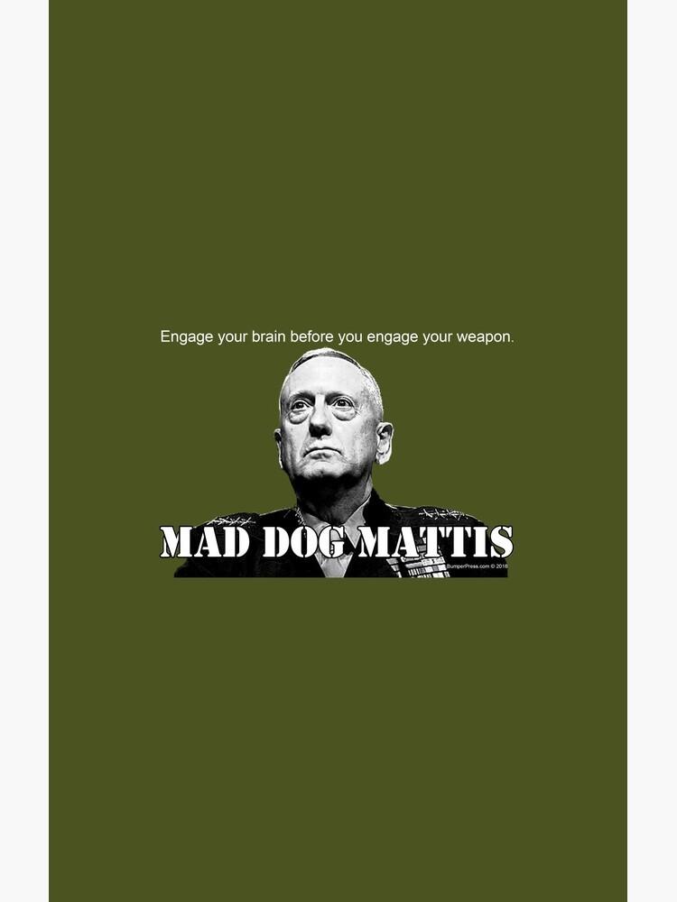 Mad Dog Mattis by EyeMagined