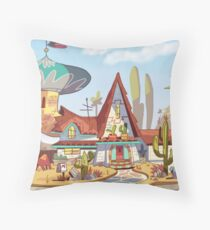Star Vs. the Forces of Evil Background Throw Pillow