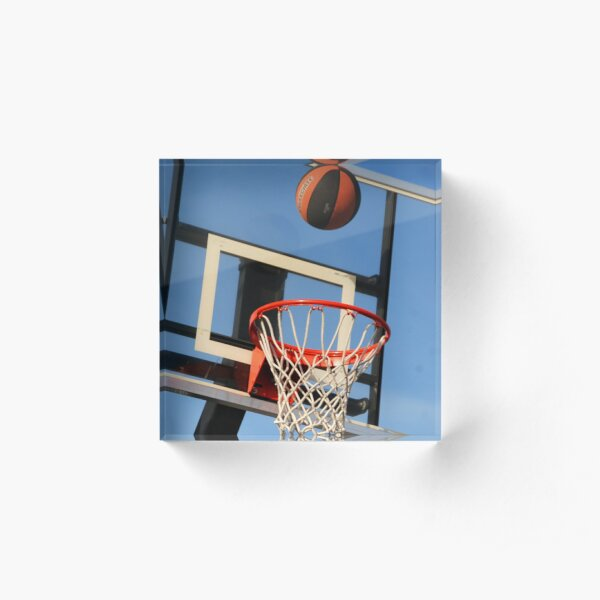 Going for a Basket! Acrylic Block
