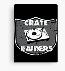 Crate Raiders Canvas Print