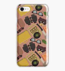 Moonrise Kingdom Pattern iPhone Case/Skin
