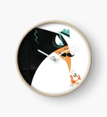 Let the Birds Go! Clock
