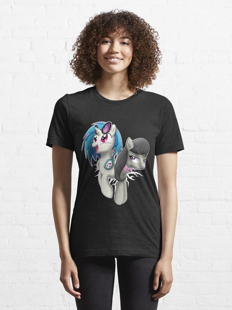 Alternate view of STUCK Vinyl & Octavia Essential T-Shirt