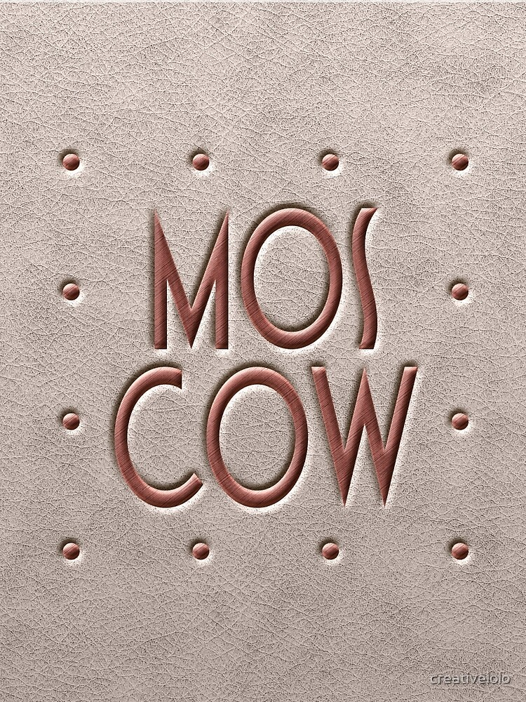 Moscow, leather and metal by creativelolo