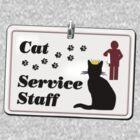 Cat Service Staff by aura2000