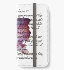 Eleventh hour iPhone Wallet/Case/Skin