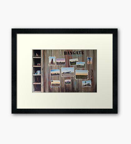 Bangate - Always Delivers Framed Print