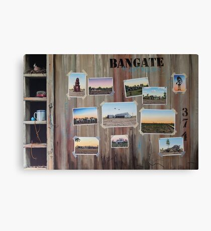 Bangate - Always Delivers Canvas Print
