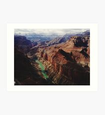 Marble Canyon Arizona Art Print