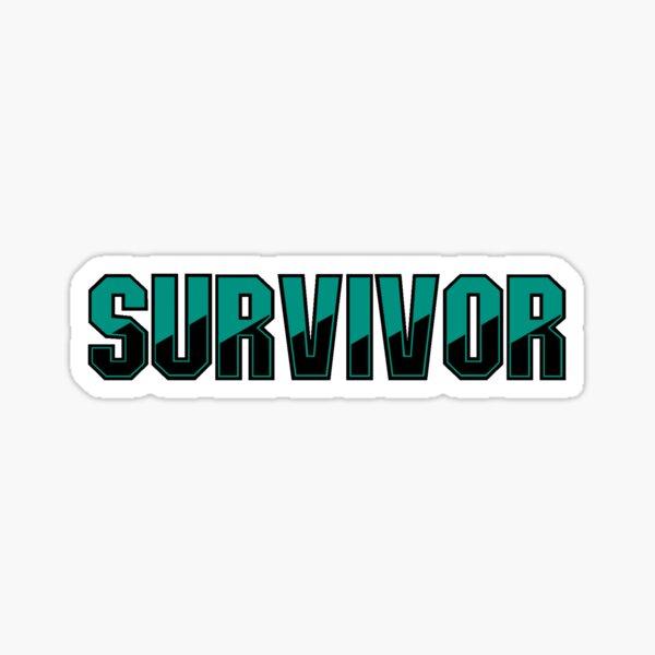 Überlebende Sticker