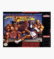 Street Fighter II Photographic Print