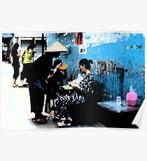 Ho Chi Minh City. Backstreet Life Poster