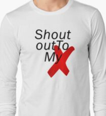 Shout out to my X - Little mix Long Sleeve T-Shirt