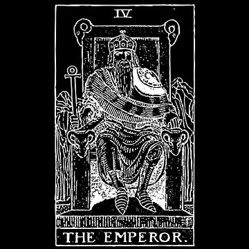 Tarot - The Emporer by MookHustle