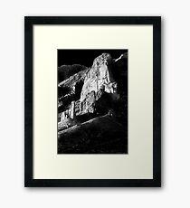 Moon Light Superstitions Framed Print