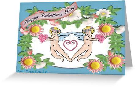 Valentine Card by Ann12art