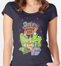 Rocko's Modern Family Women's Fitted Scoop T-Shirt