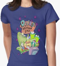 Rocko's Modern Family Women's Fitted T-Shirt