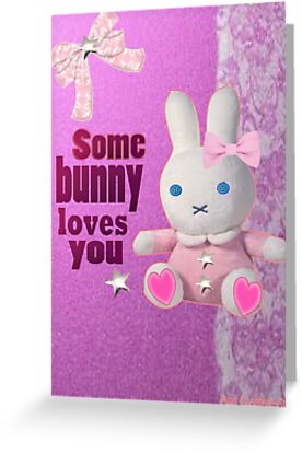 Some bunny loves U  by Ann12art