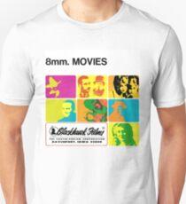 8mm. MOVIES Unisex T-Shirt