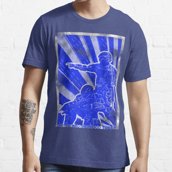 "BLUE Army ""ODST"" Propaganda Essential T-Shirt"