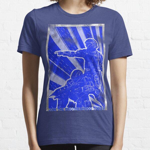 """BLUE Army """"ODST"""" Propaganda Essential T-Shirt"""