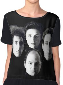 Seinfeld Crew #3 Chiffon Top