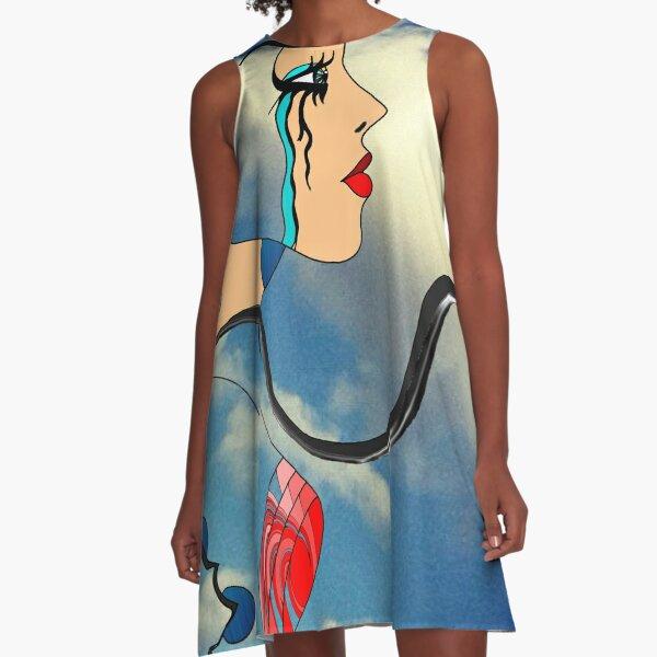 """""""AI Error"""" A-Line Dress"""