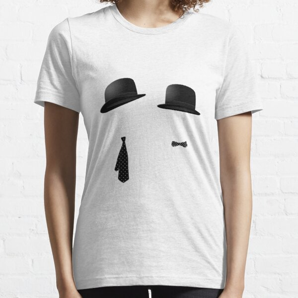 Laurel and Hardy Bowlers and Ties Essential T-Shirt