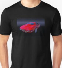 1963 Split Window Corvette Unisex T-Shirt