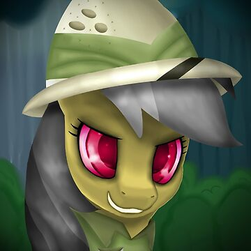 Daring Do Portrait (Hat & Shirt) by LegendDestroye