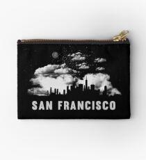 San Francisco California Skyline Cityscape Studio Pouch