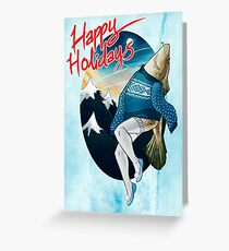 Festive Atlantic Cod Holiday Cards Greeting Card