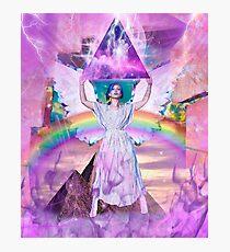 Lisa Frank <3s Jesus  Photographic Print