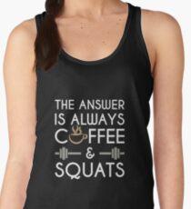 Coffee & Squats Women's Tank Top