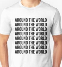 Around the world, Around the world T-Shirt