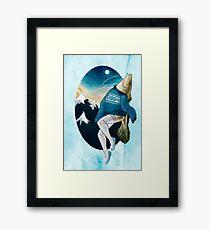 Festive Atlantic Cod Pinup Framed Print