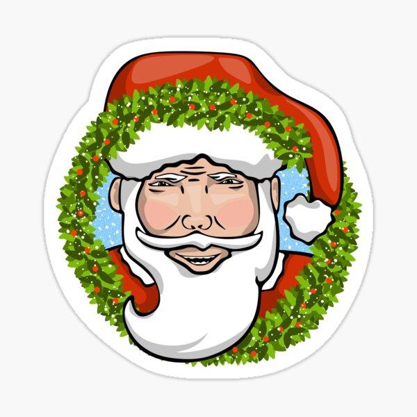 Holiday Santa Clause Sticker