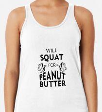 Camiseta de tirantes para mujer Will Squat para mantequilla de maní