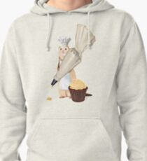 Ferret and Frosting Pullover Hoodie
