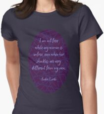 Audre Lorde Freedom and Shackles (Dark) T-Shirt