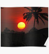 Sunrise/sunset Poster