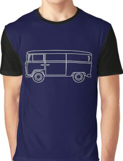 VW T2 Van Blueprint Graphic T-Shirt