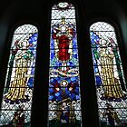 Window in St Peters Church by kalaryder