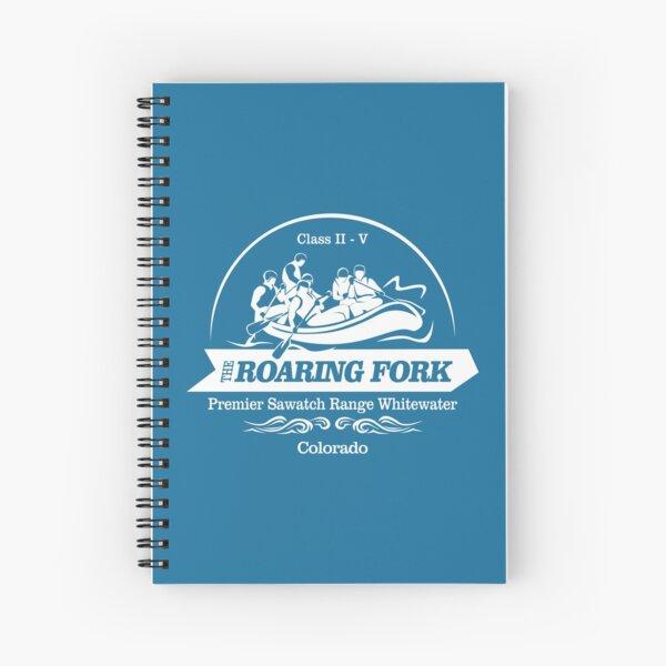 Roaring Fork River (WR) Spiral Notebook